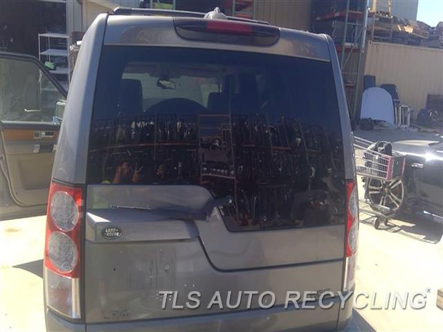 2011 Land Rover Lr4 Deck Lid  000;GRY,UPPER, (PRIVACY TINT GLASS)