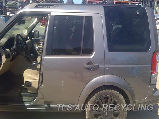 2011 Land Rover Lr4 Door Assembly, Rear Side DENT SCUFF MIDDLE SECTION 5D2,5S2,LH,GRY