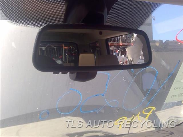 2011 Land Rover Lr4 Rear View Mirror Interior  BLK,GARAGE DOOR OPENER (HOMELINK),