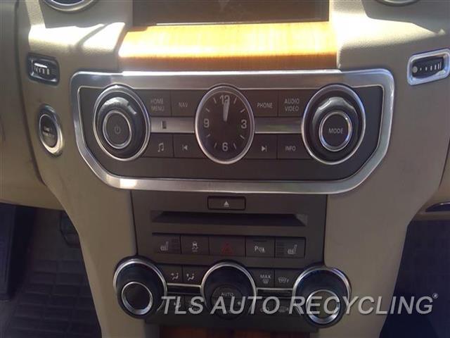 2011 Land Rover Lr4 Radio Audio / Amp  RECEIVER (DASH MOUNTED), NAVIGATION