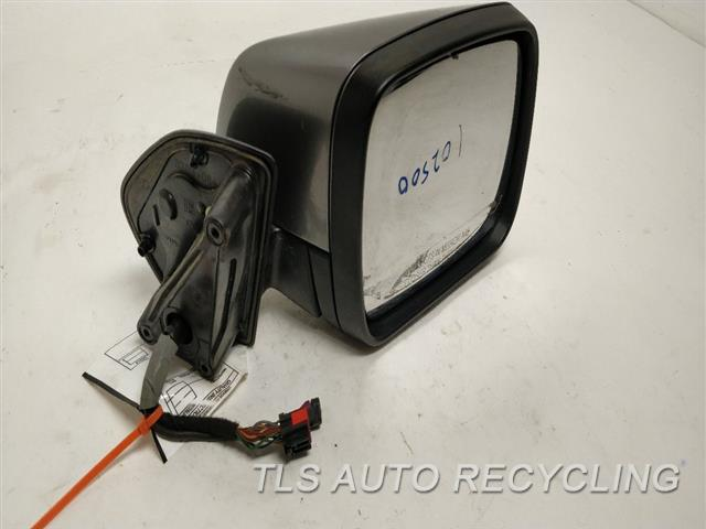 2011 Land Rover Lr4 Side View Mirror MIRROR LOOSE HANGING OFF RH,GRY,POWER, POWER FOLDING (PAINTE