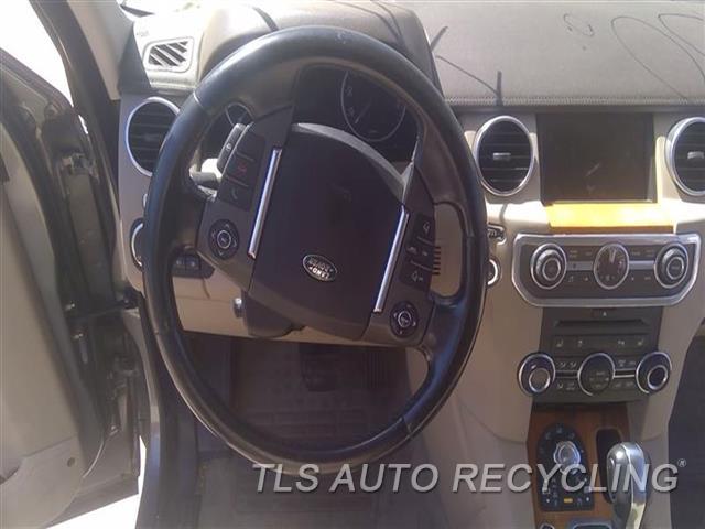 2011 Land Rover Lr4 Steering Wheel  BLK,LEA