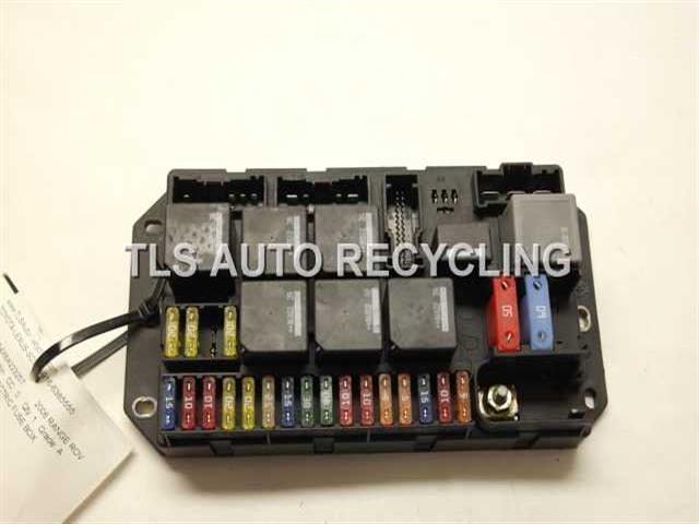 fuse box for 2000 range rover 2006 land rover range rover yqe500340rear body electric #11