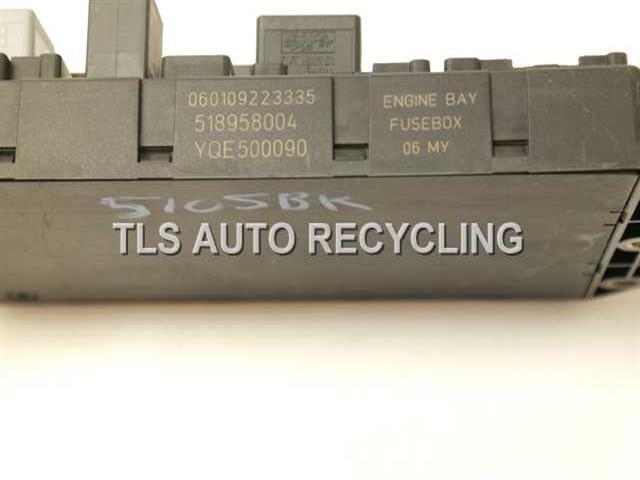 2006 land rover range rover fuse box yqe500090 engine compartment fuse box  yqe50009
