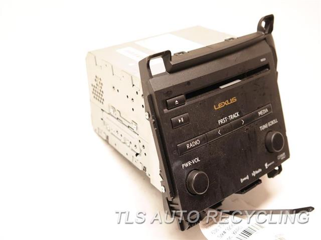 2013 Lexus Ct 200h Radio Audio / Amp 86130-76031 RECEIVER, ID 100124 ON RADIO FACE
