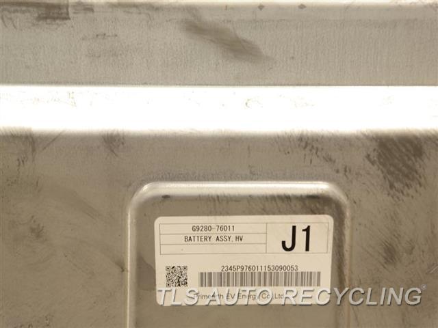 2015 Lexus Ct 200h Battery G9280-76010 HYBRID BATTERY G9280-76011