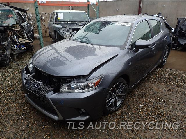 parting out 2015 lexus ct 200h stock 6463pr tls auto recycling. Black Bedroom Furniture Sets. Home Design Ideas