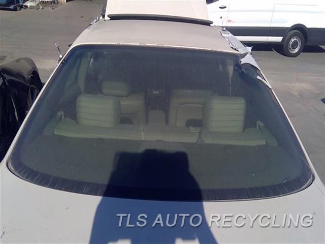2000 Lexus Es 300 Back Glass  BACK GLASS