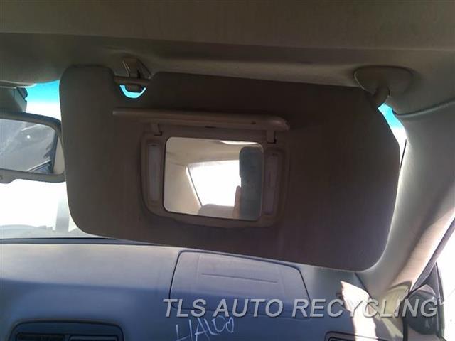 2000 Lexus Es 300 Sun Visor/shade  RH,TAN,(ILLUMINATED), R., W/O GARAG