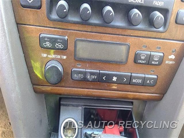 2000 Lexus Es 300 Temp Control Unit  TEMPERATURE CONTROL
