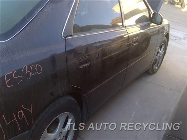 2001 Lexus Es 300 Door Assembly, Rear Side SCRATCHES MIDDLE SECTION 5S1,RH,BLK