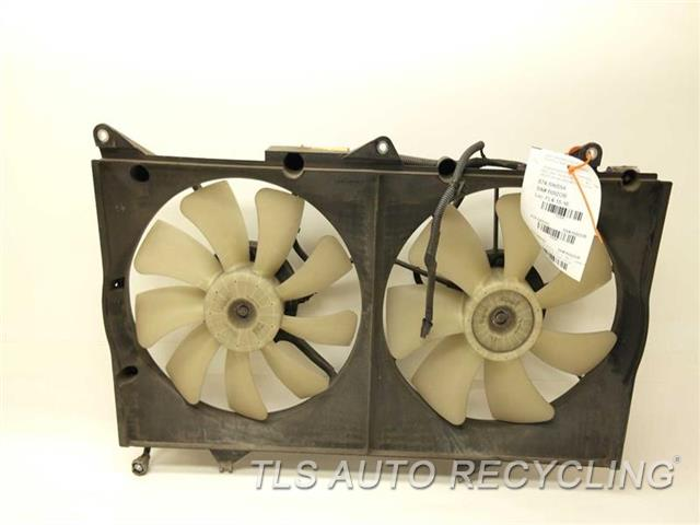 2006 Lexus Es 330 Rad Cond Fan Assy 16711 20140 Used