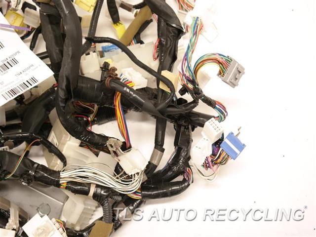 2007 Lexus Es 350 Dash Wire Harness  82141-33N90 DASH HARNESS