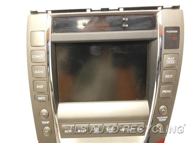 2009 lexus es 350 navigation gps screen 86111 33070. Black Bedroom Furniture Sets. Home Design Ideas