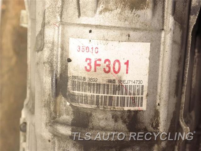 1998 Lexus Gs 300 Transmission  AUTOMATIC TRANSMISSION 1 YR WARRANTY