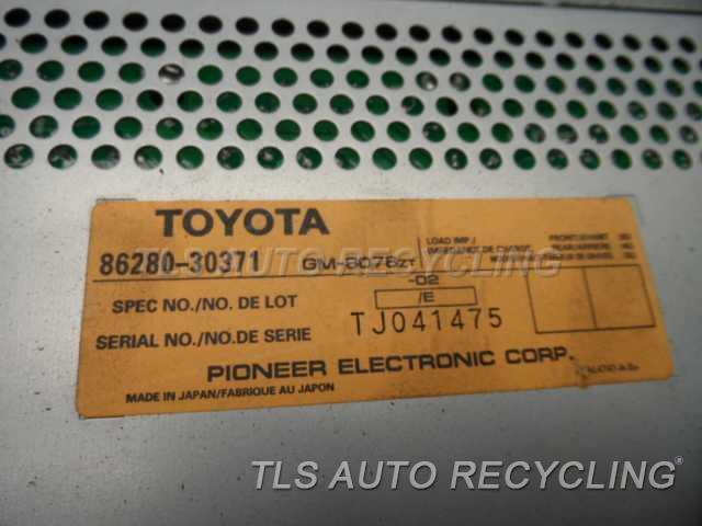 2000 Lexus Gs 400 Radio Audio / Amp  86280-30370 PIONEER AMP