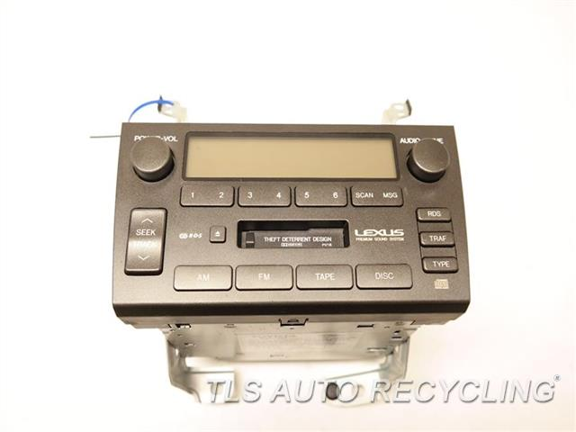 2001 Lexus Gs 430 Radio Audio / Amp 86120-3A521 RECEIVER, PIONEER AUDIO SYSTEM