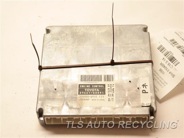 2003 Lexus Gx 470 Eng/motor Cont Mod  89661-6A041 ENGINE CONTROL ECU UNIT
