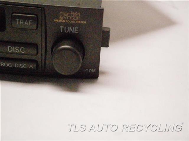 2004 Lexus Gx 470 Radio Audio / Amp  RADIO RECEIVER 86120-60441