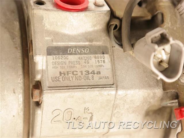2005 Lexus Gx 470 Ac Compressor  FRONT AND REAR AC
