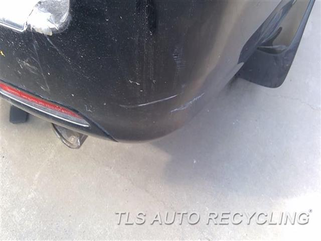 2006 Lexus Gx 470 Bumper Cover Rear   SCUFF MIDDLE RH SECTION,SCRATCHES RH SIDE 5S2,BLK,TRAILER HITCH