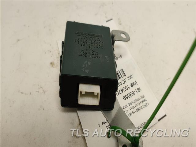 2006 Lexus Gx 470 Chassis Cont Mod  TIRE PRESSURE MONITOR
