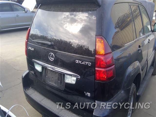 2006 Lexus Gx 470 Deck Lid  000,BLK,REAR VIEW CAMERA