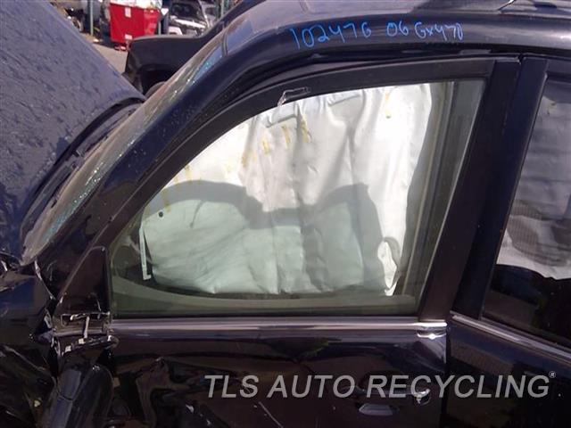 2006 Lexus Gx 470 Door Glass, Front  LH,FRONT DOOR WINDOW