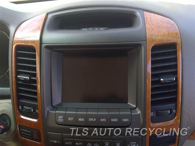 2006 Lexus Gx 470 Navigation Gps Screen  4.7L,DISPLAY SCREEN
