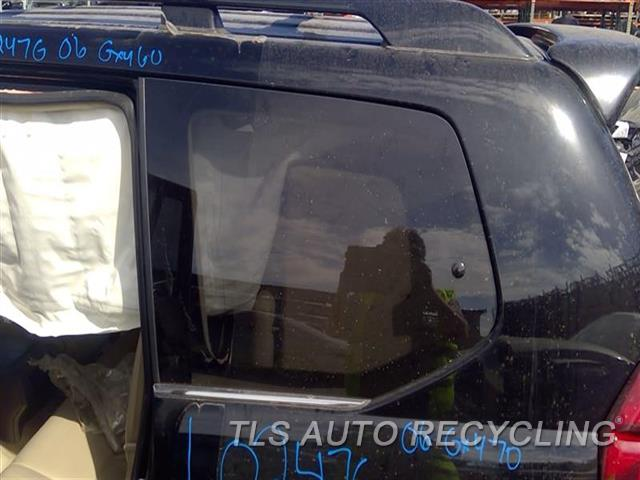 2006 Lexus Gx 470 Quarter Glass  LH,QUARTER GLASS