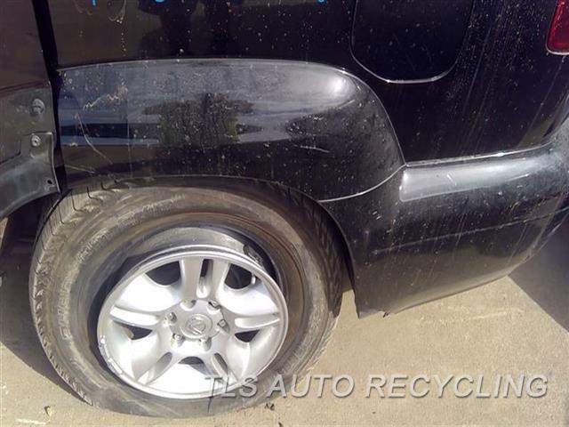 2006 Lexus Gx 470 Quarter Moulding SCRATCH BLK,LH