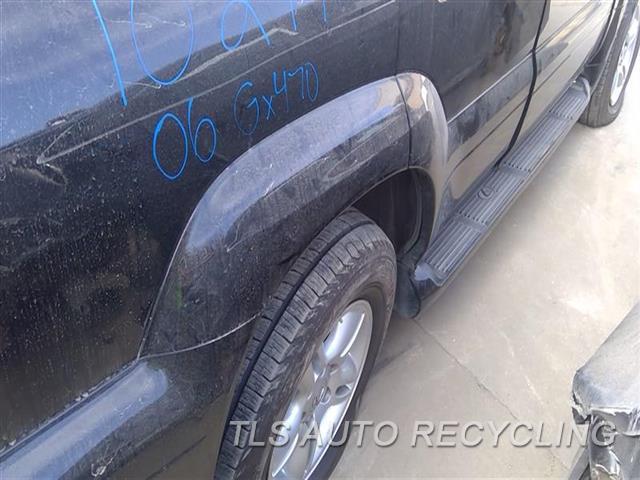 2006 Lexus Gx 470 Quarter Moulding  RH,BLK