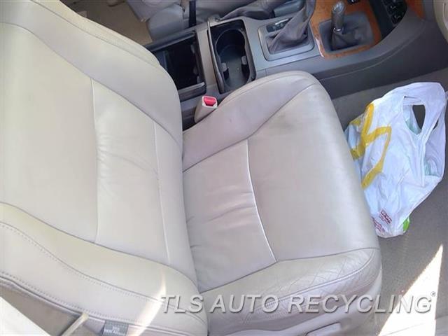 2006 Lexus Gx 470 Seat, Front  RH,TAN,LEA,(BUCKET), (AIR BAG), (LE
