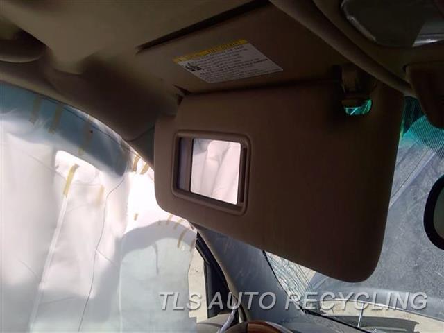 2006 Lexus Gx 470 Sun Visor/shade  LH,TAN