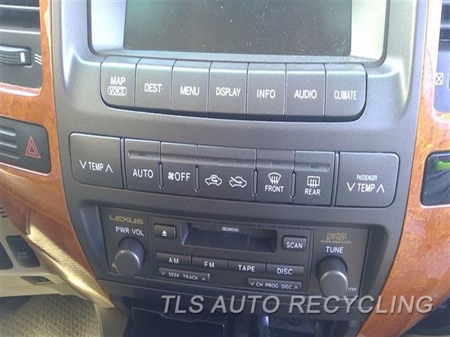 2006 Lexus Gx 470 Temp Control Unit  TEMP CONTROL ,FRONT, NAVIGATION