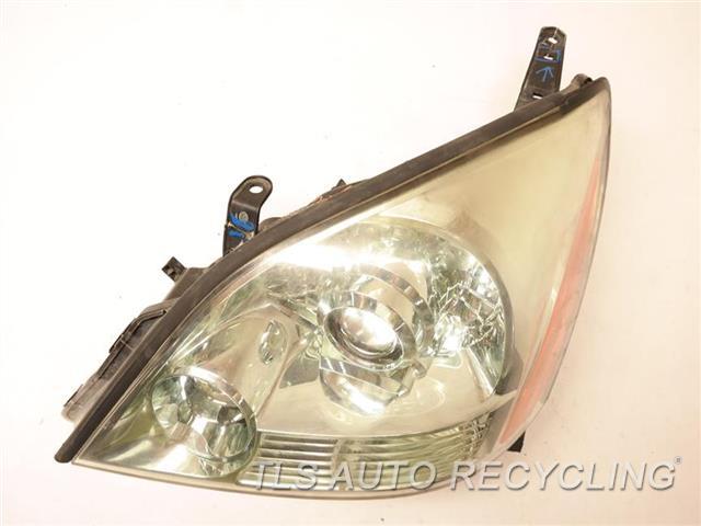 2008 Lexus Gx 470 Headlamp Assembly TWO UPPER TABS GLUED LH,HEADLAMP, W/O SPORT PACKAGE NIQ