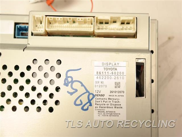Genuine OEM Lexus GX 470 recycled Auto parts - 2008 navigation gps screen  online  TLS Auto Recycling
