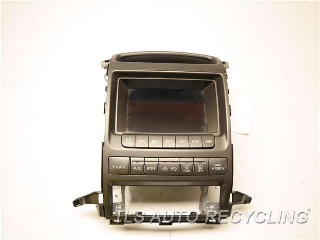 2008 Lexus Gx 470 Navigation Gps Screen 86111-60200 DISPLAY SCREEN W/CLOCK PANEL