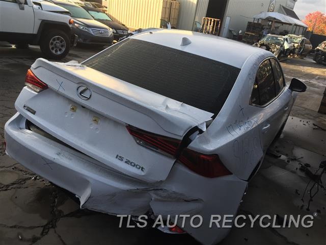 2017 Lexus IS200T Parts Stock# 8665YL