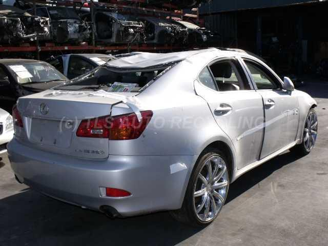 2006 lexus is 250 silver black roll over used a grade. Black Bedroom Furniture Sets. Home Design Ideas