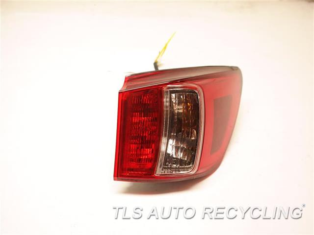 2011 Lexus Is 250 Tail Lamp  RH,SDN, QUARTER PANEL MOUNTED, R.