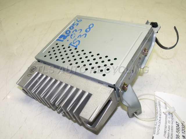 2003 Lexus Is 300 Radio Audio / Amp  86280-53050 RADIO AMPLIFIRE