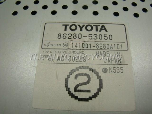 2004 Lexus Is 300 Radio Audio / Amp  RADIO AMP 86280-53050