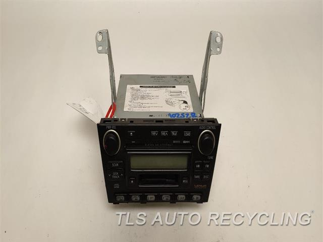 2004 Lexus Is 300 Radio Audio / Amp  RECEIVER, PREMIUM AUDIO SYSTEM