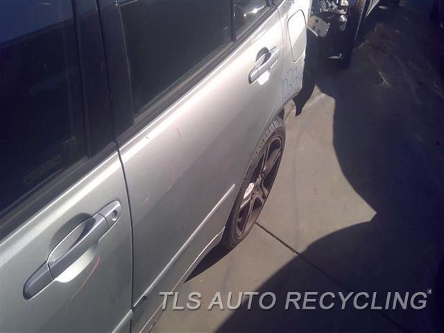 2005 Lexus Is 300 Door Assembly, Rear Side MINOR SCRATCHES NEAR DOOR HANDLE 8S0,LH,SLV,SW, L.