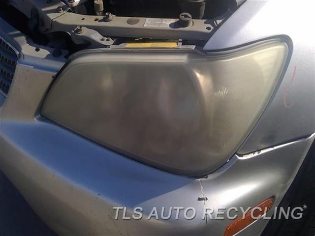 2005 Lexus Is 300 Headlamp Assembly UPPER TAB REPAIRED NEEDS BUFF NIQ,LH,HEADLAMP