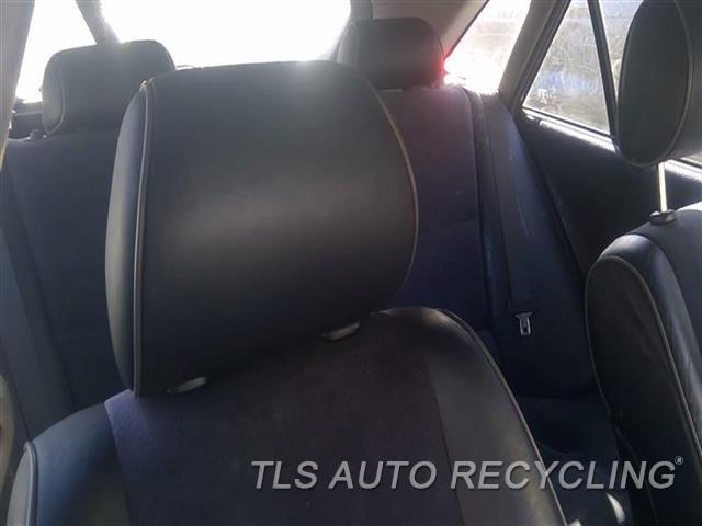2005 Lexus Is 300 Headrest  BLK,LEA,FRONT