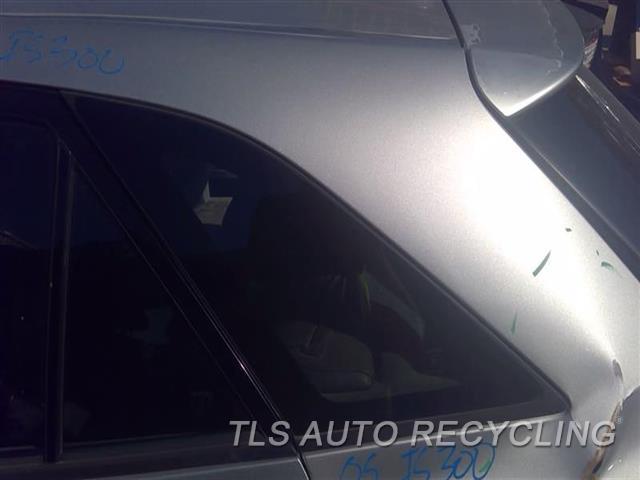 2005 Lexus Is 300 Quarter Glass  LH,(SW), L.