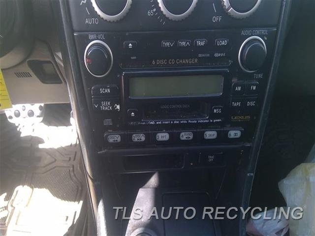 2005 Lexus Is 300 Radio Audio / Amp  RECEIVER, PREMIUM AUDIO SYSTEM