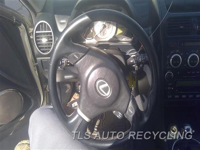 2005 Lexus Is 300 Steering Wheel  BLK,LEA